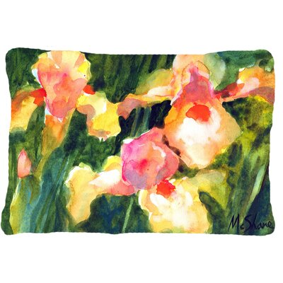 Iris Indoor/Outdoor Throw Pillow