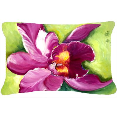 Orchid Indoor/Outdoor Throw Pillow