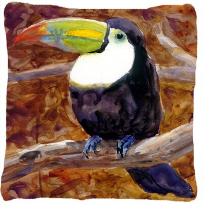 Toucan Indoor/Outdoor Throw Pillow