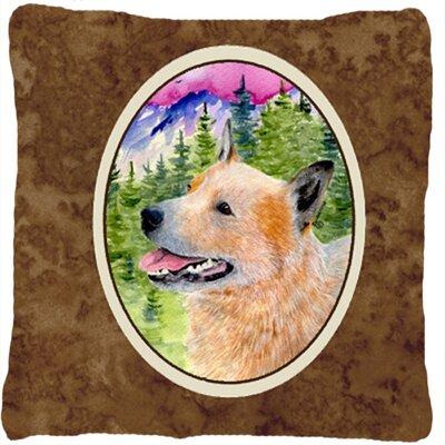 Australian Cattle Dog Indoor/Outdoor Throw Pillow