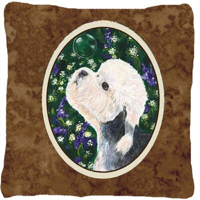 Dandie Dinmont Terrier Indoor/Outdoor Throw Pillow