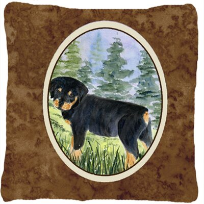 Rottweiler Modern Indoor/Outdoor Throw Pillow