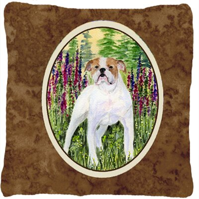 English Bulldog Indoor/Outdoor Throw Pillow