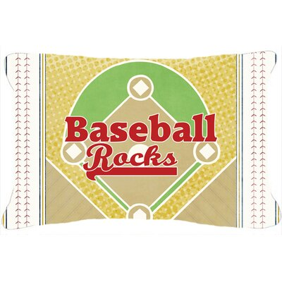 Baseball Rules Indoor/Outdoor Throw Pillow
