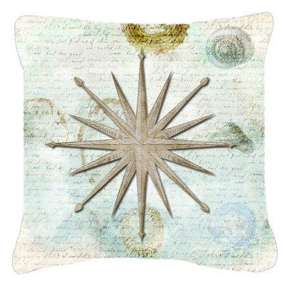 Balderston Navigation Star Indoor/Outdoor Throw Pillow Size: 18 H x 18 W x 5.5 D