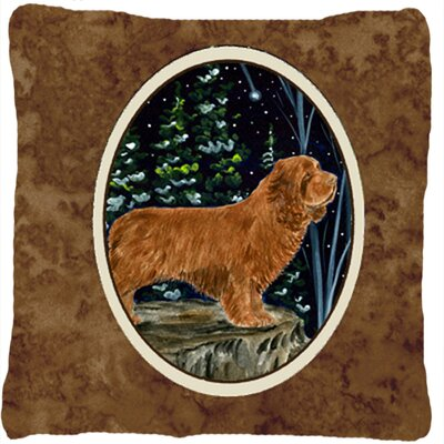 Sussex Spaniel Indoor/Outdoor Throw Pillow
