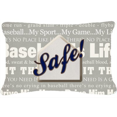 Safe at Home Indoor/Outdoor Throw Pillow
