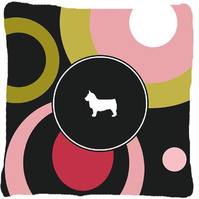 Swedish Vallhund Indoor/Outdoor Throw Pillow