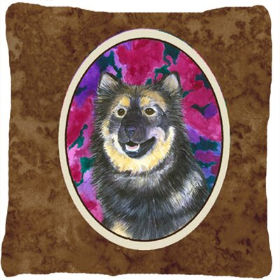 Finnish Lapphund Indoor/Outdoor Throw Pillow