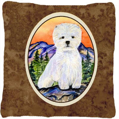 Westie Indoor/Outdoor Throw Pillow