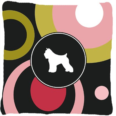 Bouvier Des Flandres Indoor/Outdoor Throw Pillow