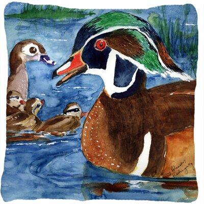 Wood Duck Indoor/Outdoor Throw Pillow