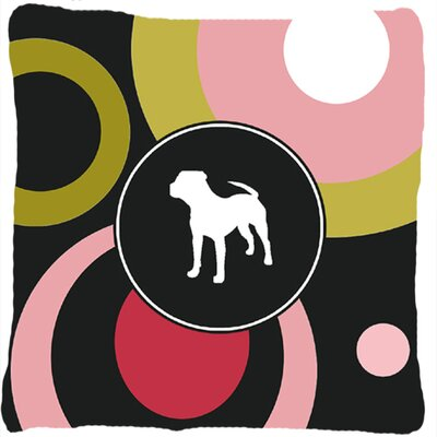 Pit Bull Indoor/Outdoor Throw Pillow