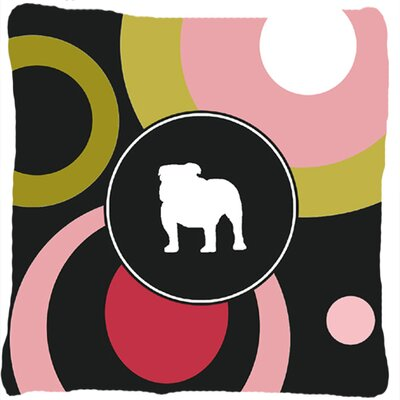 Bulldog Indoor/Outdoor Throw Pillow
