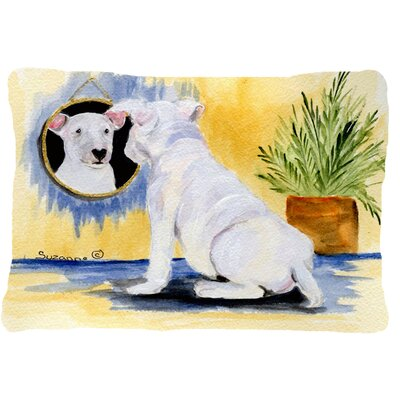 Bull Terrier Indoor/Outdoor Throw Pillow
