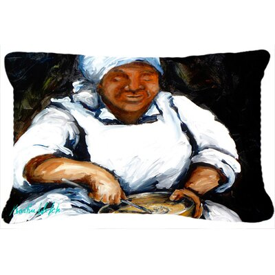 Hot Water Cornbread Indoor/Outdoor Throw Pillow