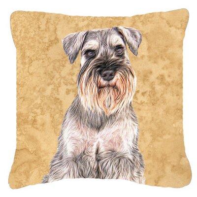 German Shepherd Indoor/Outdoor Throw Pillow Size: 14 H x 14 W x 4 D