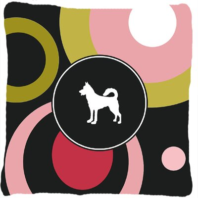 Canaan Dog Indoor/Outdoor Throw Pillow