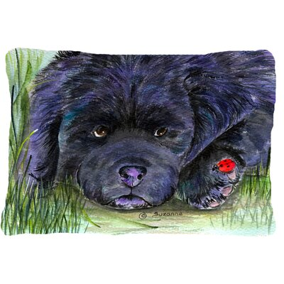 Newfoundland Indoor/Outdoor Throw Pillow