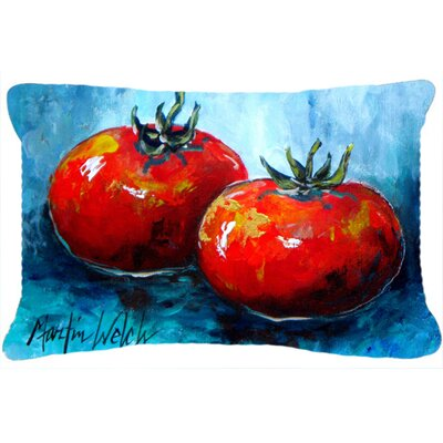 Tomatoes Red Toes Indoor/Outdoor Throw Pillow