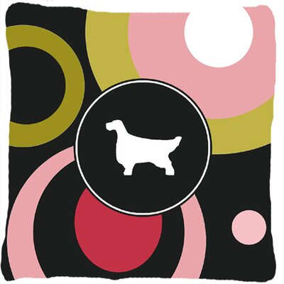 English Setter Indoor/Outdoor Throw Pillow