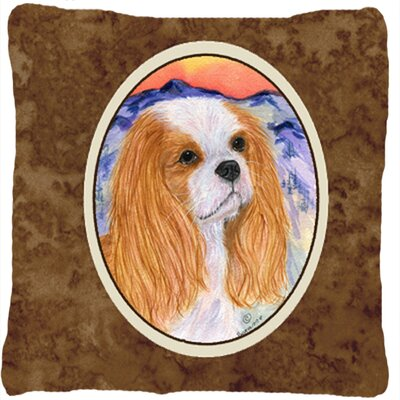Cavalier Spaniel Indoor/Outdoor Throw Pillow