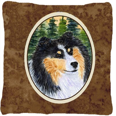 Sheltie Indoor/Outdoor Throw Pillow