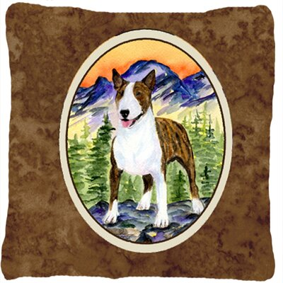 Donoghue Bull Terrier Indoor/Outdoor Throw Pillow