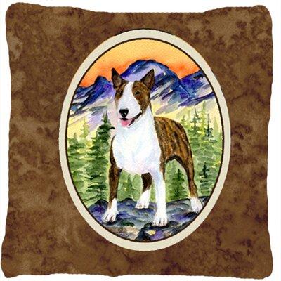 Donoghue Bull Terrier Indoor/Outdoor Throw Pillow
