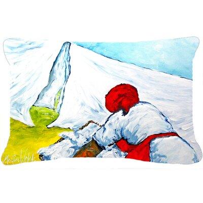 Must Be Monday Indoor/Outdoor Throw Pillow