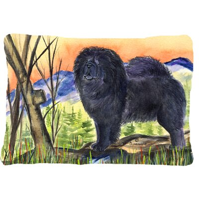 Chow Chow Modern Indoor/Outdoor Throw Pillow
