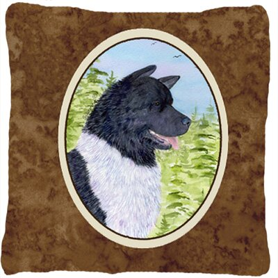 Akita Indoor/Outdoor Throw Pillow