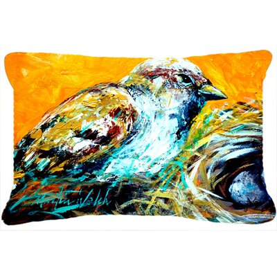 Look at The Birdie Indoor/Outdoor Throw Pillow