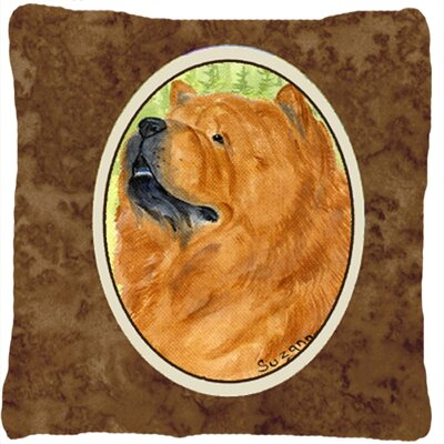 Chow Chow Indoor/Outdoor Graphic Print Throw Pillow