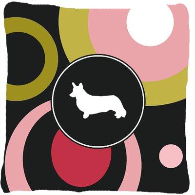 Corgi Indoor/Outdoor Throw Pillow