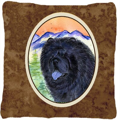 Chow Chow Square Indoor/Outdoor Throw Pillow