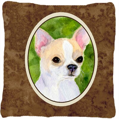 Chihuahua Brown Indoor/Outdoor Throw Pillow