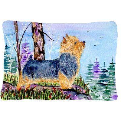 Norwich Terrier Indoor/Outdoor Throw Pillow