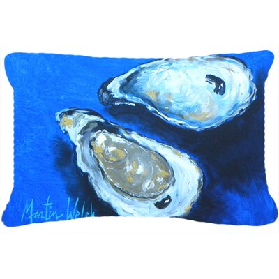 Oysters Seafood IIII Indoor/Outdoor Throw Pillow