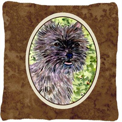Cairn Terrier Indoor/Outdoor Throw Pillow