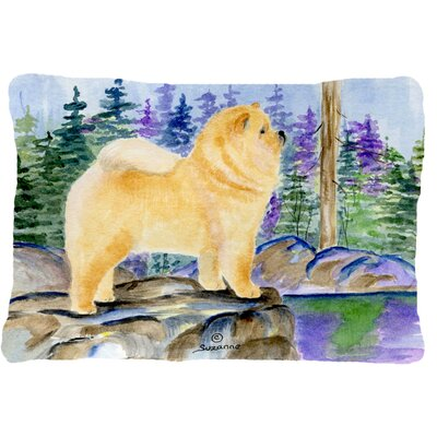 Chow Chow Indoor/Outdoor Rectangular Throw Pillow