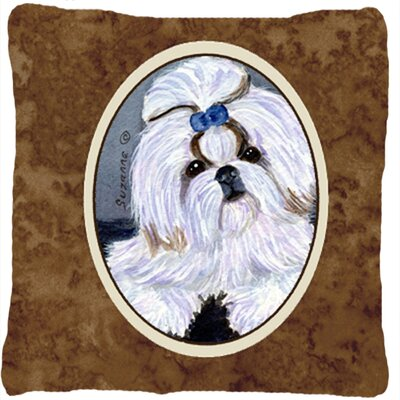 Shih Tzu Indoor/Outdoor Throw Pillow