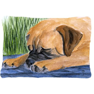 Bullmastiff Rectangular Indoor/Outdoor Throw Pillow
