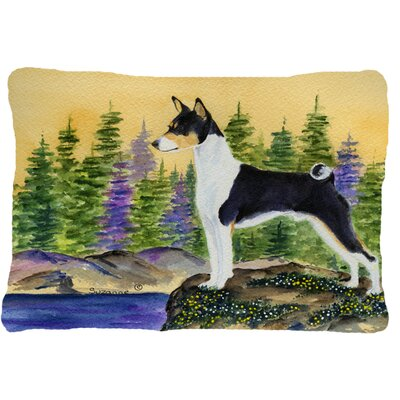 Basenji Rectangular Indoor/Outdoor Throw Pillow