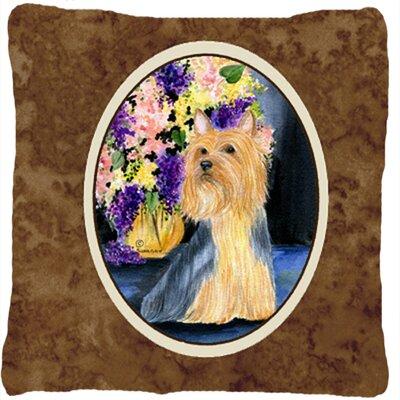 Silky Terrier Indoor/Outdoor Throw Pillow