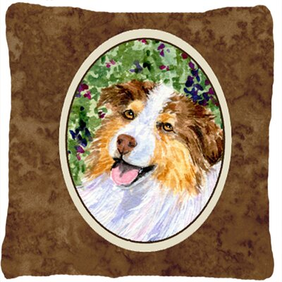 Australian Shepherd Indoor/Outdoor Throw Pillow