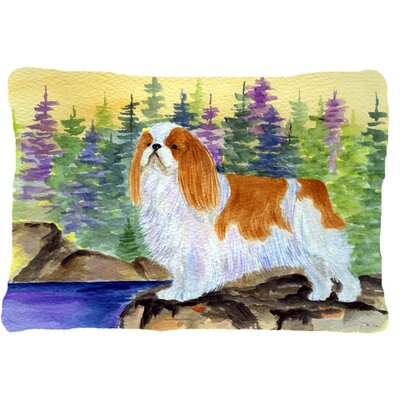 English Toy Spaniel Indoor/Outdoor Throw Pillow EAAS6939 40011186