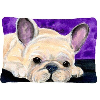 French Bulldog Indoor/Outdoor Throw Pillow