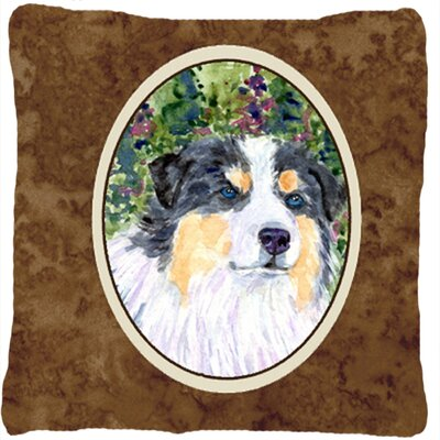 Australian Shepherd 14 Indoor/Outdoor Throw Pillow