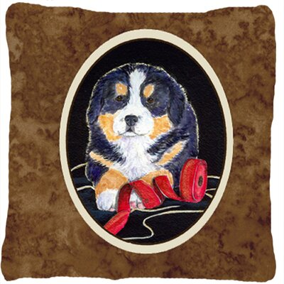 Modern Dog Indoor/Outdoor Throw Pillow